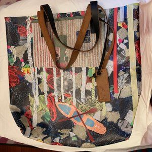 Marni Vinyl Canvas Artist Print Tote bag